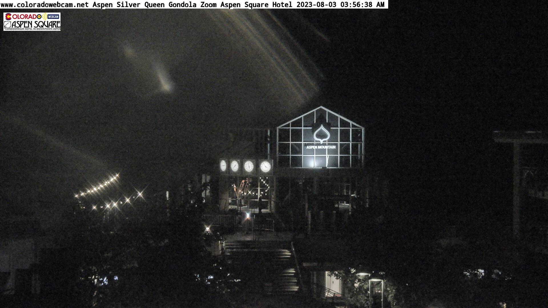 Aspen Colorado NEW PTZ Aspen Sliver Queen Gondola Live Aspen Webcam Snapshot