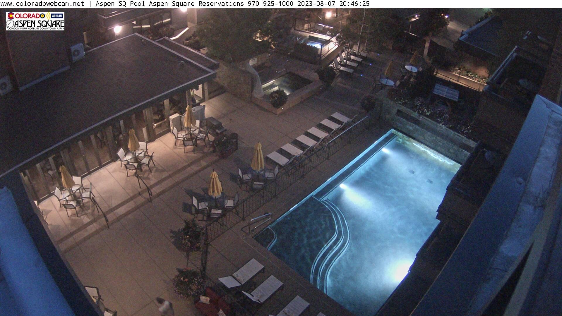Aspen Square Hotel Pool Aspen CO