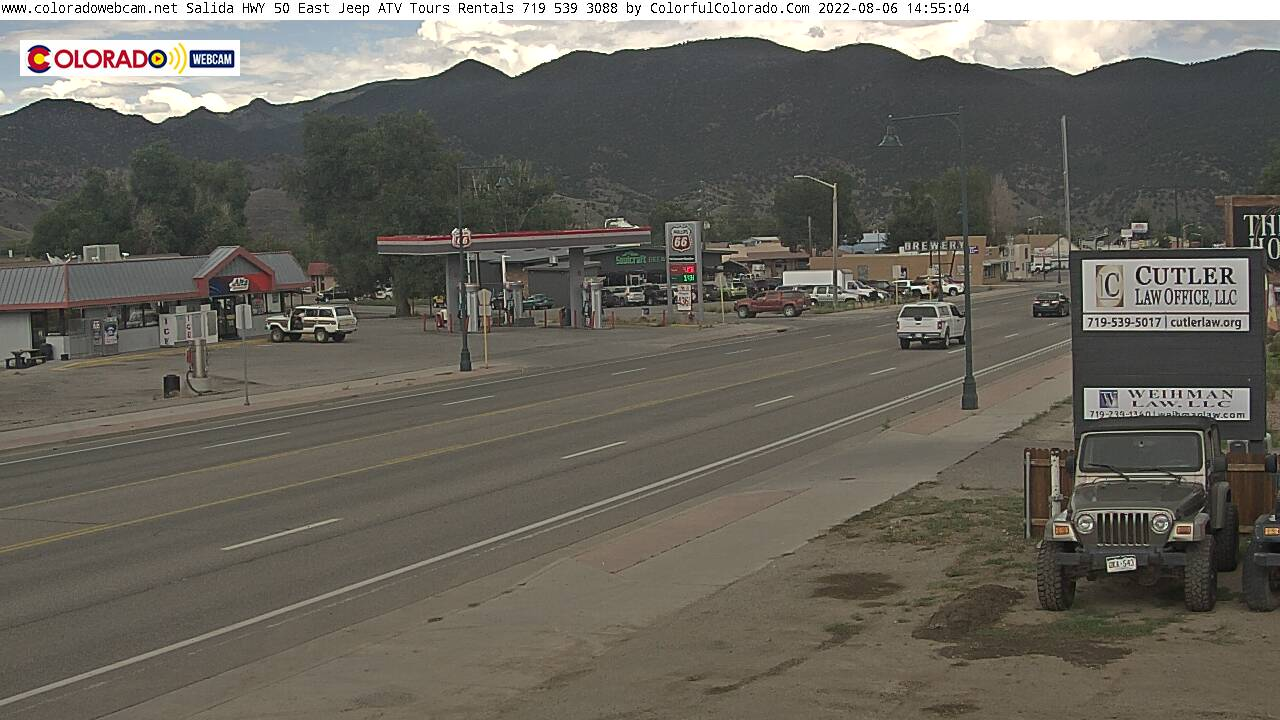 Go Live: Colorado Web Cam US HWY 50 East Salida, Colorado