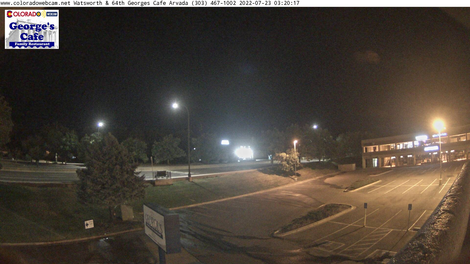 Arvada Wadsworth & 64th Georges Cafe Webcam